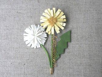 Dandelion ブローチの画像
