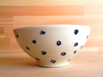 水玉食器・小さなお茶碗の画像