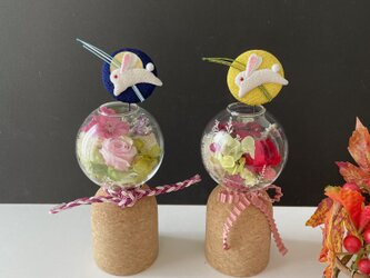 Autumn mini Glassarrangeの画像