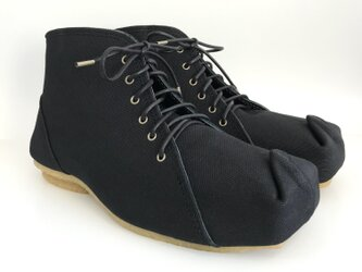 SQUARE boots #倉敷帆布 #受注製作の画像