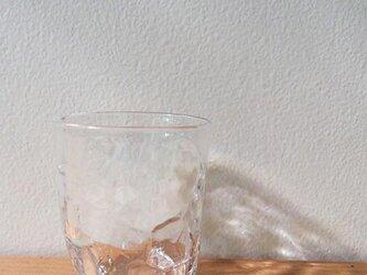 4つ足miniグラス クリアの画像