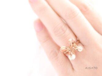 Helix Ring mini Pinkgold へリックスリング ミニ ピンクゴールドの画像