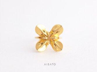 Helix Ring mini Yellowgold へリックスリング ミニ イエローゴールドの画像