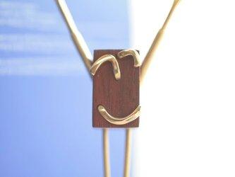 0021「花櫚+真鍮」ひとこと mokujiiの画像