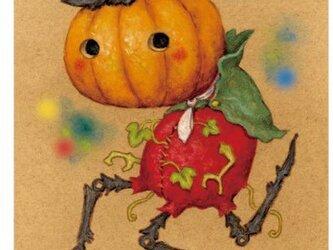 【裏地球】ハロウィン☆ポストカード(4枚入)の画像