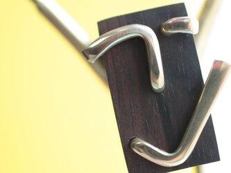 0025「黒檀+真鍮」ひとこと mokujiiの画像