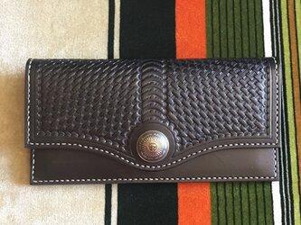 カードがたっぷり入る長財布 ブラックの画像