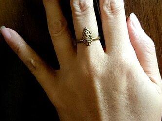 粔籹(おこし)Ring-spindle(真鍮/K18gp)の画像