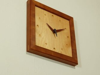 壁掛け時計 (cherry001)の画像