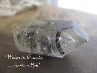 水入り水晶 原石の画像