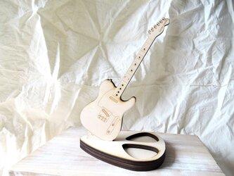 ギターのアクセサリースタンド(テレキャスタータイプ)の画像
