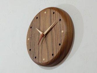 壁掛け時計 (walnut103)の画像