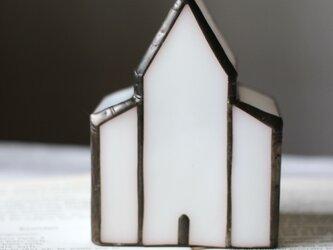 白いガラスの教会 小さいサイズの画像