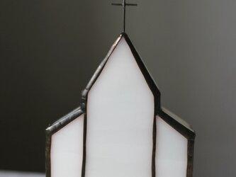 白いガラスの教会 大きいサイズの画像
