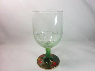 フルーツフリルレースのワインゴブレットGPの画像