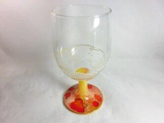 フルーツフリルレースのワインゴブレットROrの画像
