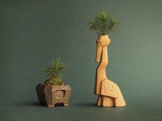 コトブキ   亀鉢 & ツル首ベースの画像