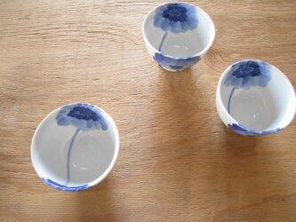 元気なアネモネ お茶カップの画像