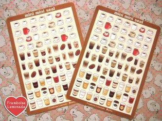 10216 ミニミニシール cafeの画像