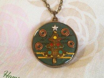 クリスマスツリー☆ネックレス ホムポムの画像