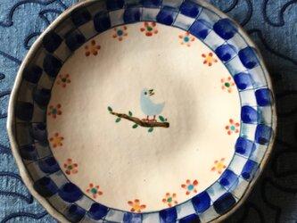 再・再・再出品 青い鳥の大皿の画像