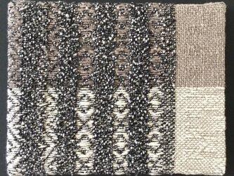 #16006 F0サイズ 手織りファブリックパネルの画像