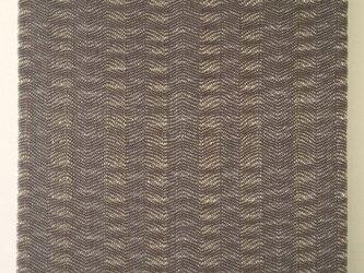 #16014 ジャケットサイズ 手織りファブリックパネルの画像