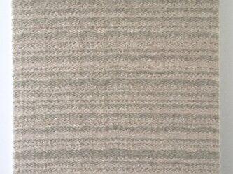 #16016 ジャケットサイズ 手織りファブリックパネルの画像
