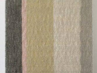 #16017 ジャケットサイズ 手織りファブリックパネルの画像