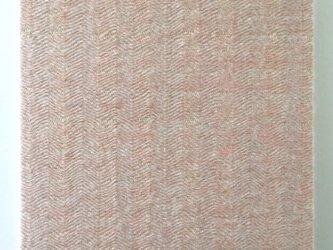 #16018 ジャケットサイズ 手織りファブリックパネルの画像