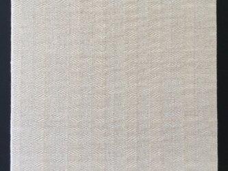 #16024 ジャケットサイズ 手織りファブリックパネルの画像