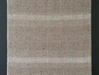 #16027 ジャケットサイズ 手織りファブリックパネルの画像