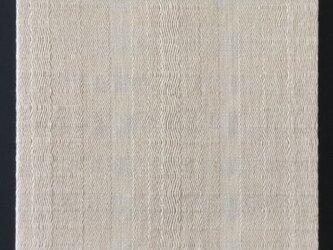 #16029 ジャケットサイズ 手織りファブリックパネルの画像