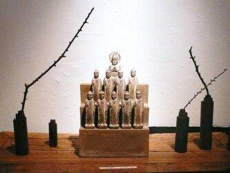 陶仏(如来・菩薩仏像壇)の画像