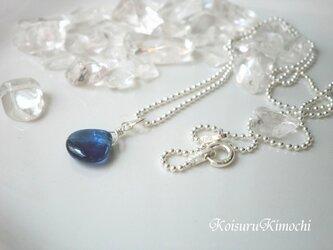 カイヤナイトのネックレス◆Lady Blue◆の画像