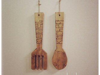 【マーティー&リッキー】キッチン 雑貨 インテリア 壁掛けの画像