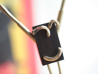 0036「黒檀+真鍮」ひとこと mokujiiの画像