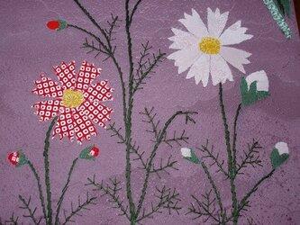 壁掛け ~秋の花とススキ~の画像