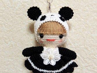 パンダの着ぐるみの画像