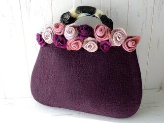 *Rosey rosey *紫紺*の画像