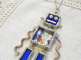 ・ステンドグラス*ネックレス-ロボット(4)の画像