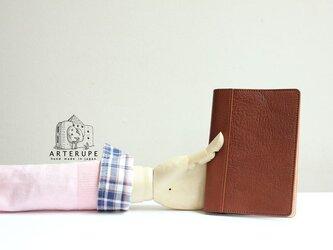 A6Size・ノートブックカバー/Dottoreマロンの画像