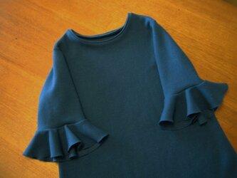 Rib Knit One-Piece (送料無料)の画像