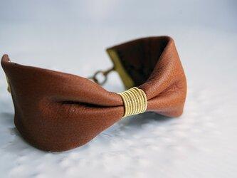 トナカイのRibbon Bracelet キャメルの画像