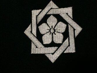 戦国・幕末 家紋Tシャツ(刺繍) 「坂本龍馬」の画像