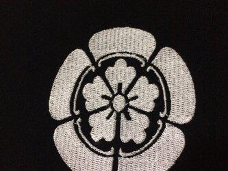 戦国・幕末 家紋Tシャツ(刺繍) 「織田信長」の画像