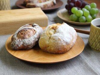チェリーのお皿(φ185)パン皿の画像