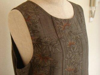 紬ジャンパースカート(総裏付き)の画像