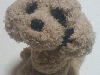 気分屋編み雑貨【プードル犬】の画像