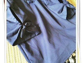 袖リボンシャツ【大人用Mサイズ】の画像